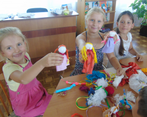 Майстер-клас для малечі «Лялька-оберіг»