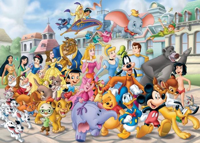 Свято гарного настрою  «Відпочиваємо разом з героями мультфільмів»